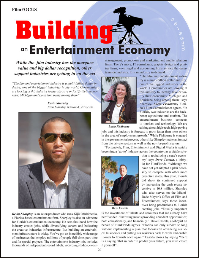 Kevin Sharpley In Focus Magazine